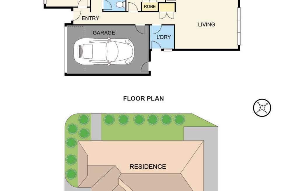 Floorplan of Homely unit listing, 12/51 Leigh Drive, Pakenham VIC 3810