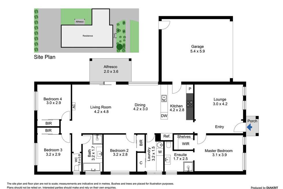 Floorplan of Homely house listing, 15 Stately Avenue, Wyndham Vale VIC 3024