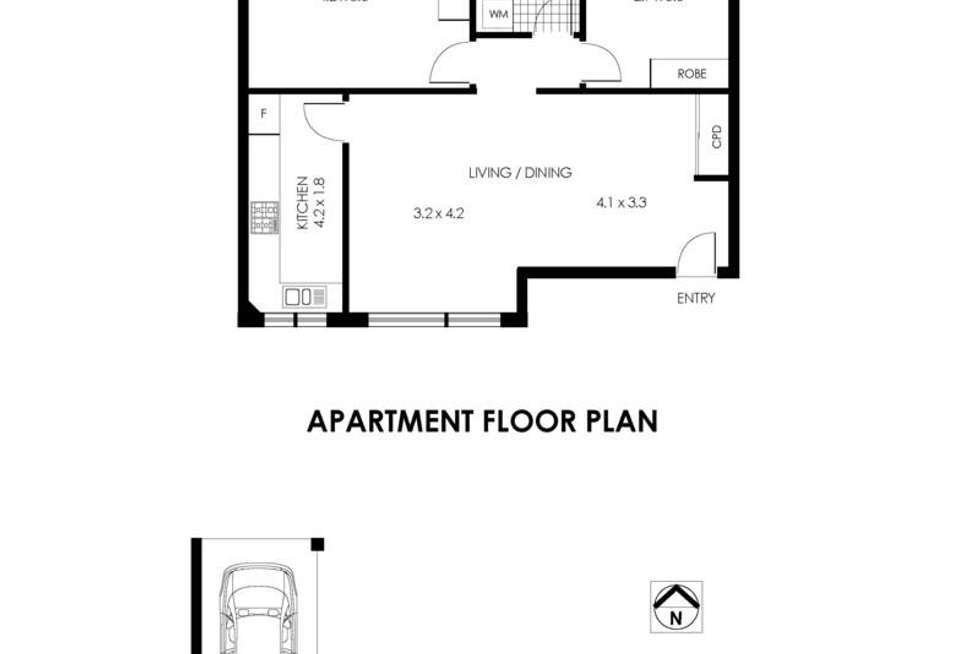 Floorplan of Homely apartment listing, 5/11 Merlin Street, Neutral Bay NSW 2089