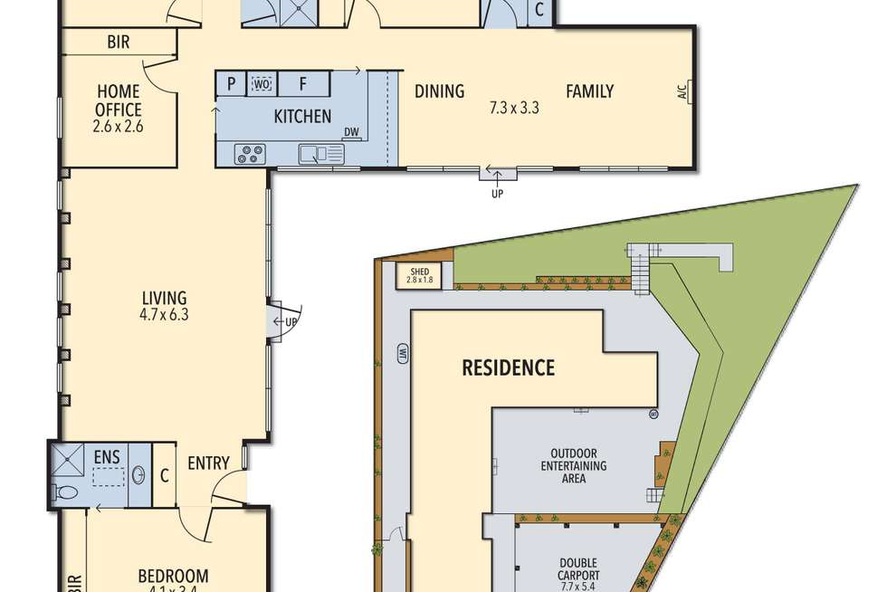 Floorplan of Homely house listing, 4 Iona Court, Macleod VIC 3085