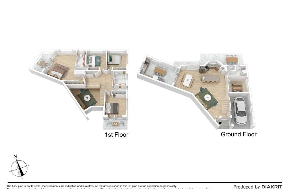 Floorplan of Homely townhouse listing, 33/48 Lemke Road, Taigum QLD 4018