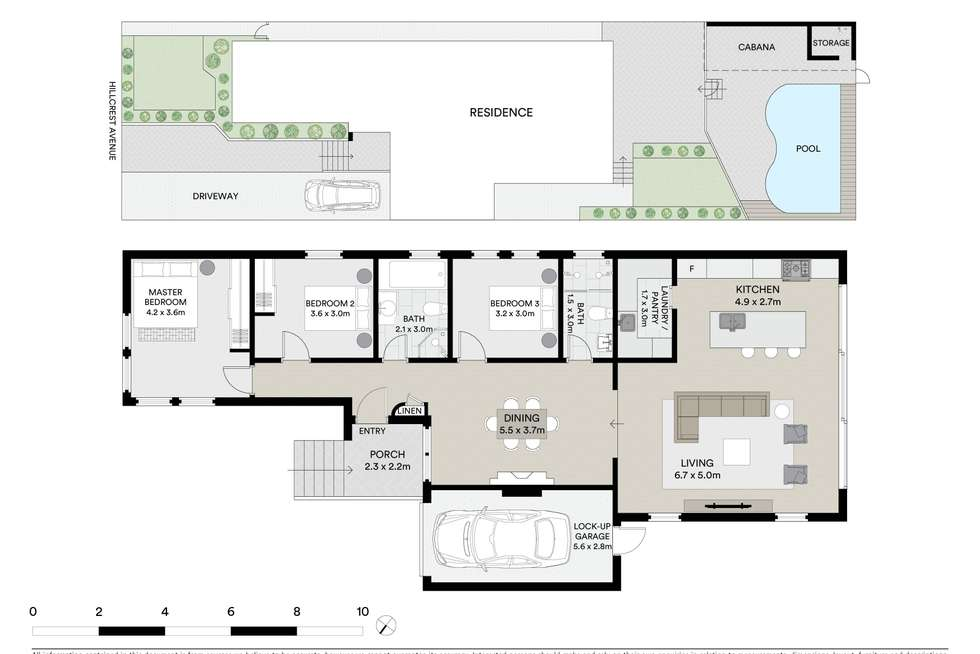 Floorplan of Homely house listing, 23 Hillcrest Avenue, Bardwell Valley NSW 2207