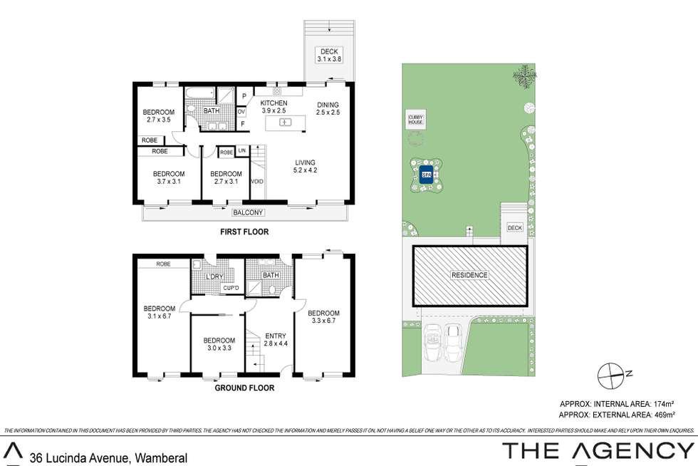 Floorplan of Homely house listing, 36 Lucinda Avenue, Wamberal NSW 2260