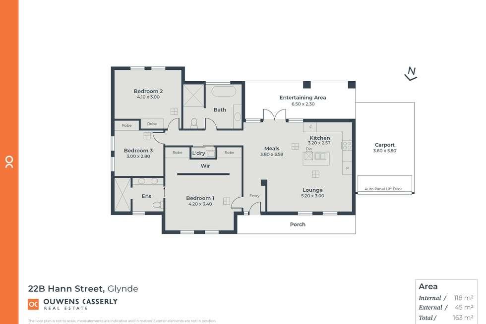 Floorplan of Homely house listing, 22b Hann Street, Glynde SA 5070