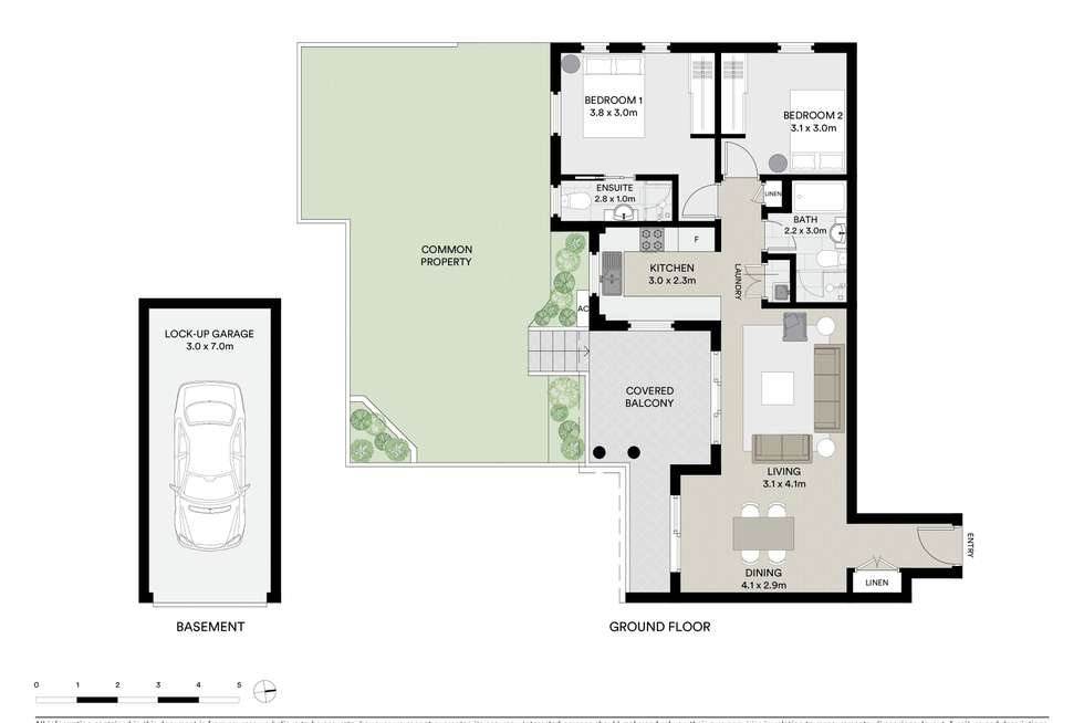 Floorplan of Homely apartment listing, 8/46-48 Old Pittwater Road, Brookvale NSW 2100
