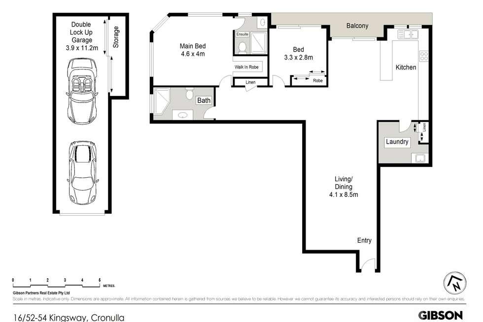 Floorplan of Homely apartment listing, 16/52-54 Kingsway, Cronulla NSW 2230