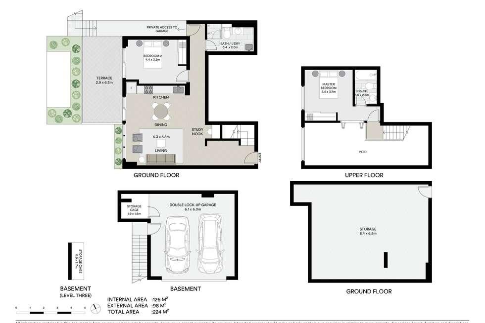 Floorplan of Homely apartment listing, 3/27 Thornleigh Street, Thornleigh NSW 2120