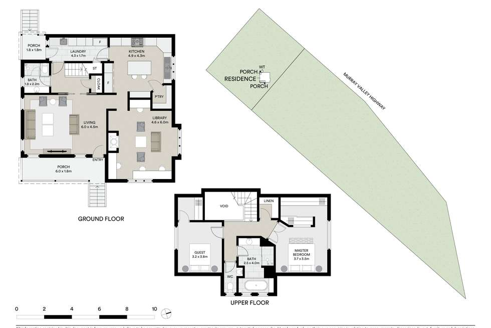 Floorplan of Homely acreageSemiRural listing, 3829 Murray Valley Highway, Bonegilla VIC 3691