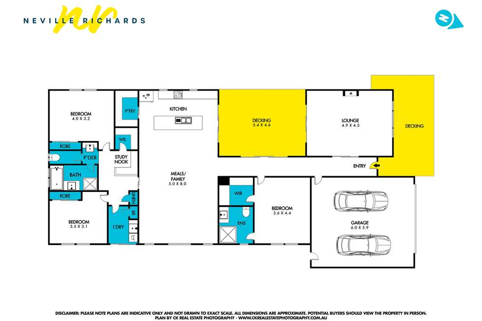 Floorplan of Homely house listing, 147 Bay Shore Avenue, Clifton Springs VIC 3222