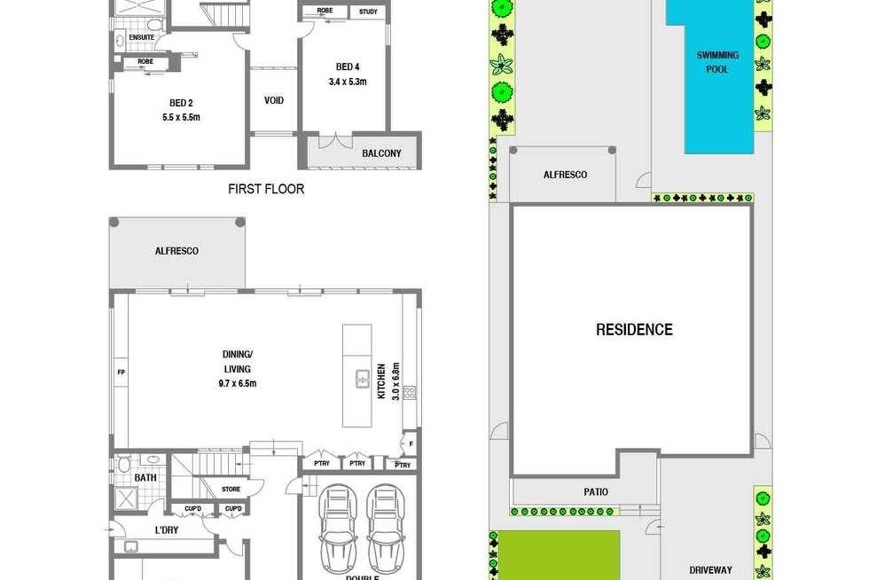 Floorplan of Homely house listing, 75 Redmyre Road, Strathfield NSW 2135