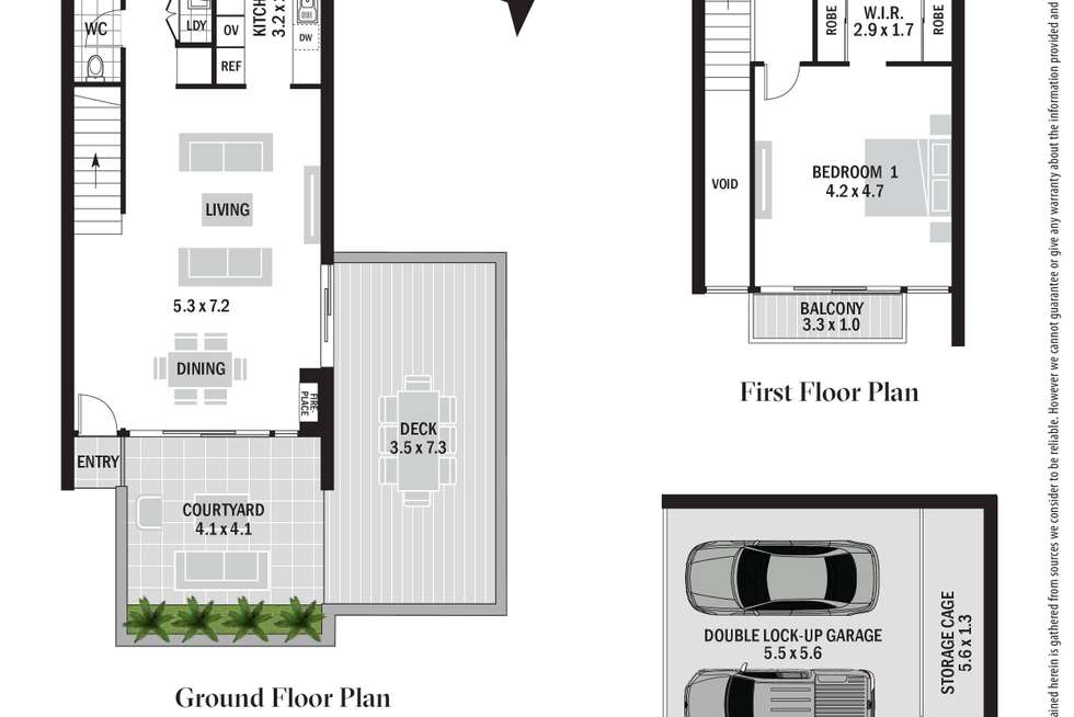 Floorplan of Homely townhouse listing, 15/10-16 Surfview Road, Mona Vale NSW 2103