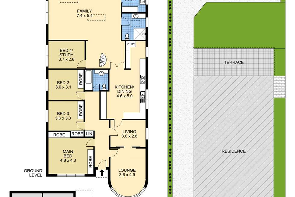 Floorplan of Homely house listing, 57 Moverly Road, Maroubra NSW 2035