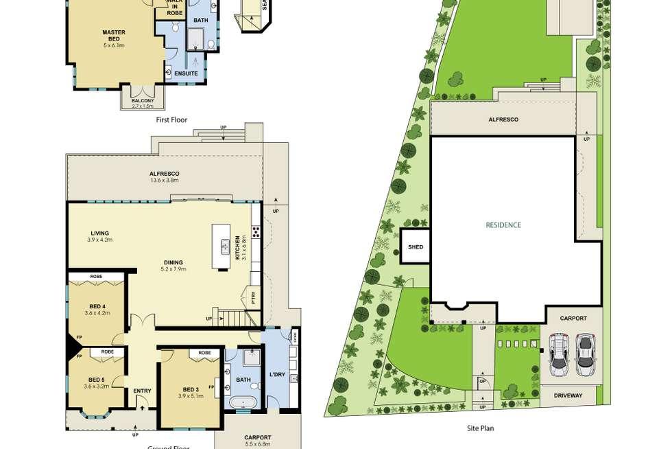 Floorplan of Homely house listing, 63 Northwood Road, Northwood NSW 2066