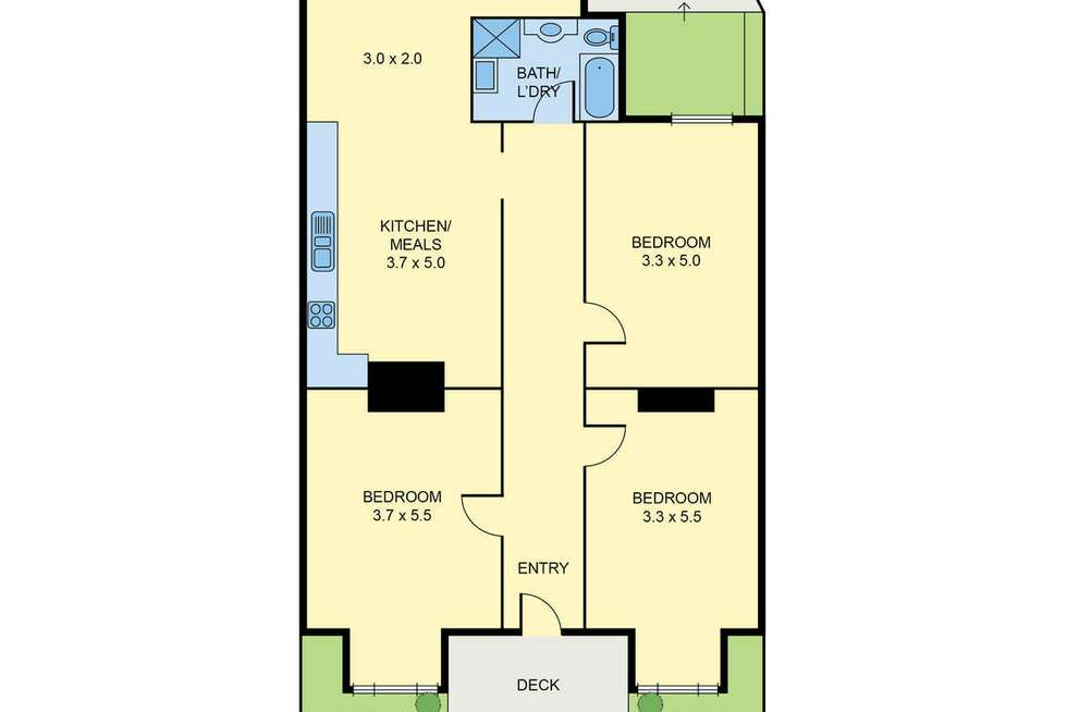 Floorplan of Homely house listing, 168 Epsom Road, Ascot Vale VIC 3032