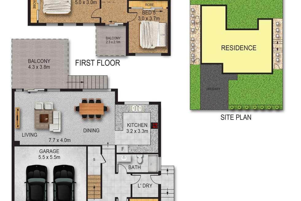 Floorplan of Homely house listing, 27 Maling Avenue, Ermington NSW 2115