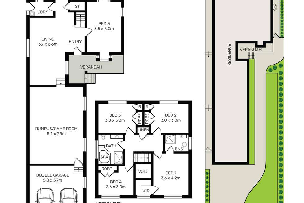 Floorplan of Homely house listing, 203 Old Kent Road, Greenacre NSW 2190