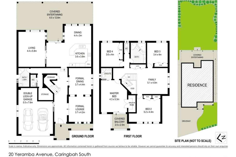Floorplan of Homely house listing, 20 Yeramba Avenue, Caringbah South NSW 2229