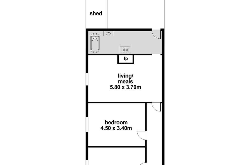 Floorplan of Homely house listing, 35 George Street, North Adelaide SA 5006