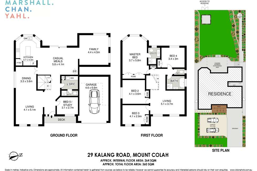 Floorplan of Homely house listing, 29 Kalang Road, Mount Colah NSW 2079