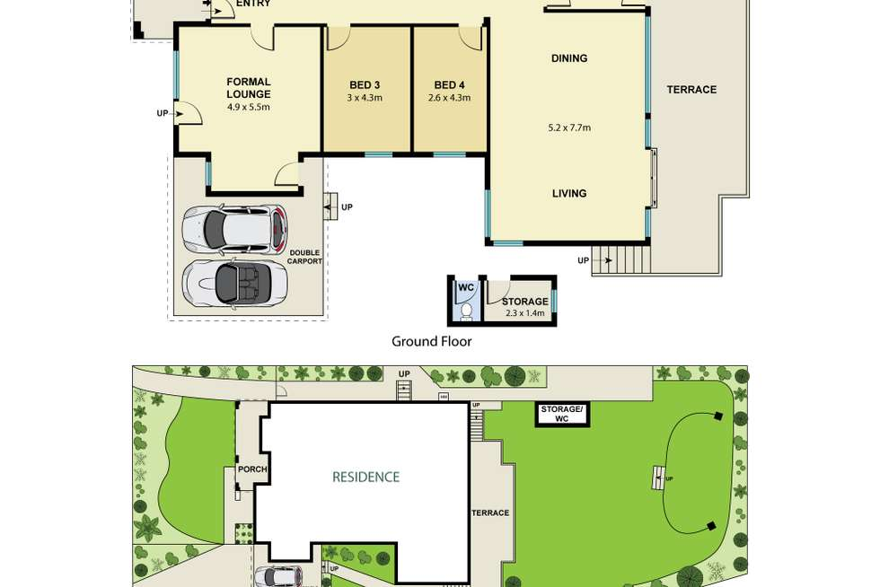 Floorplan of Homely house listing, 9 Upper Cliff Road, Northwood NSW 2066