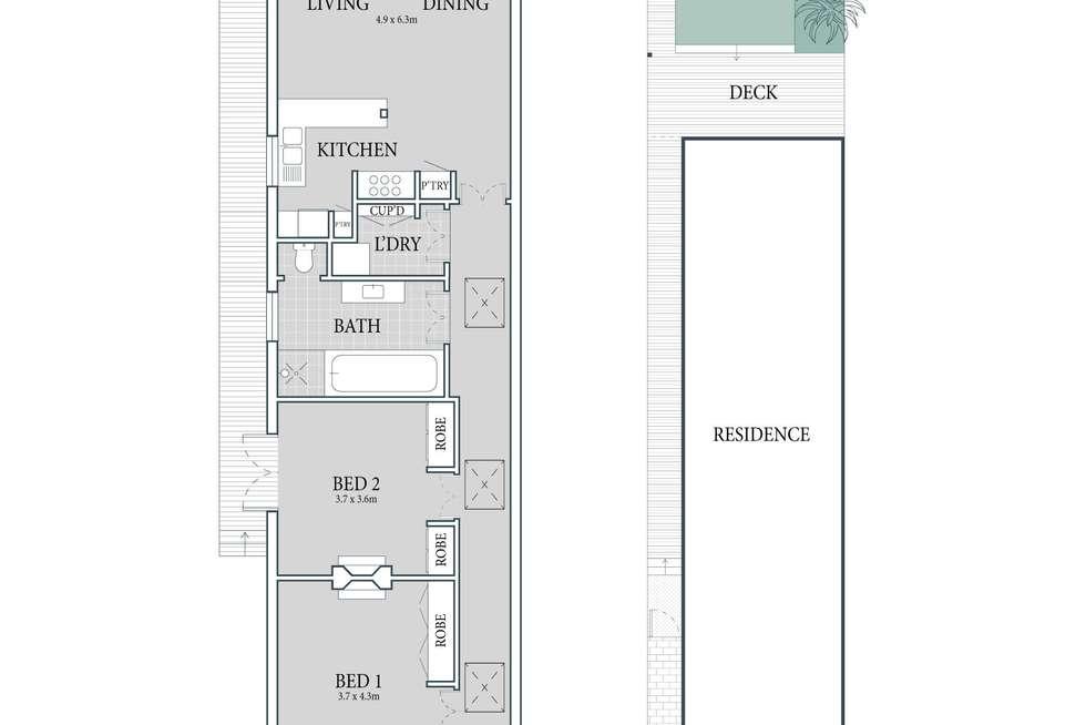 Floorplan of Homely house listing, 255 Elswick Street, Leichhardt NSW 2040