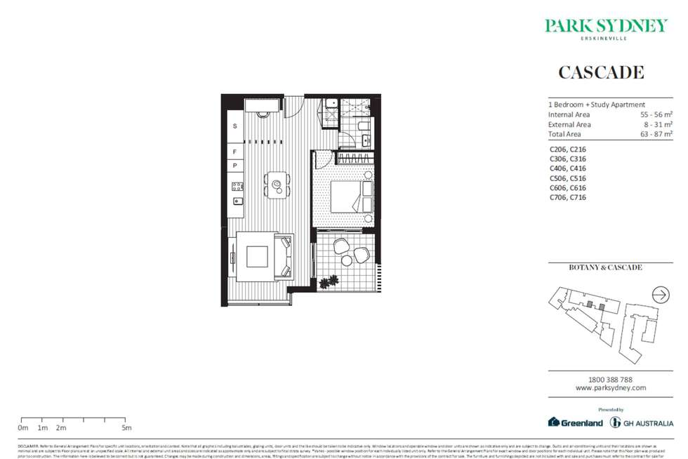Floorplan of Homely apartment listing, Level 6/2 Foundry Street, Erskineville NSW 2043