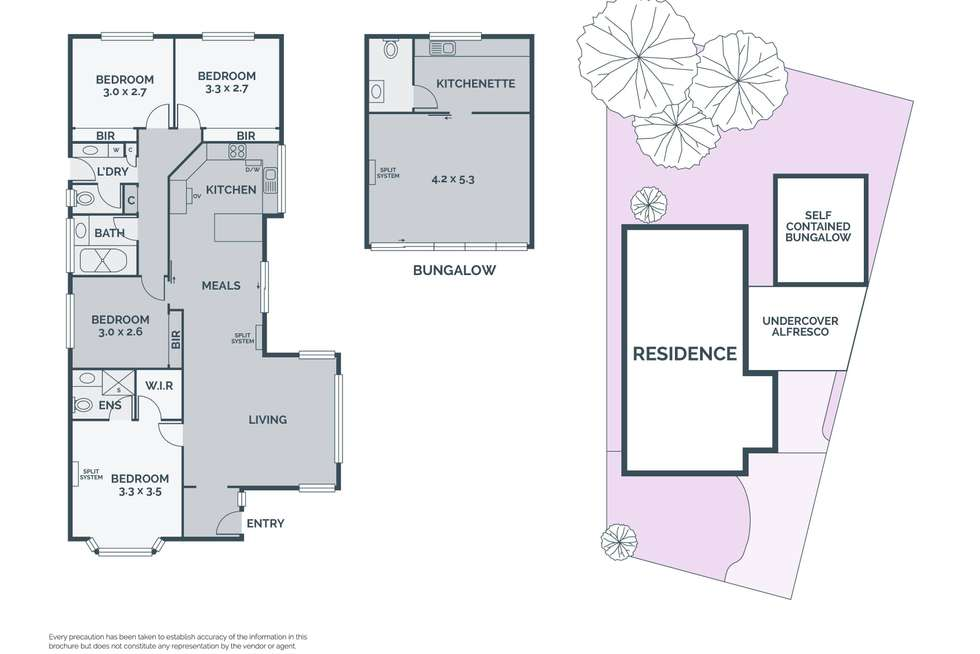 Floorplan of Homely house listing, 11 Clayton Court, Mill Park VIC 3082