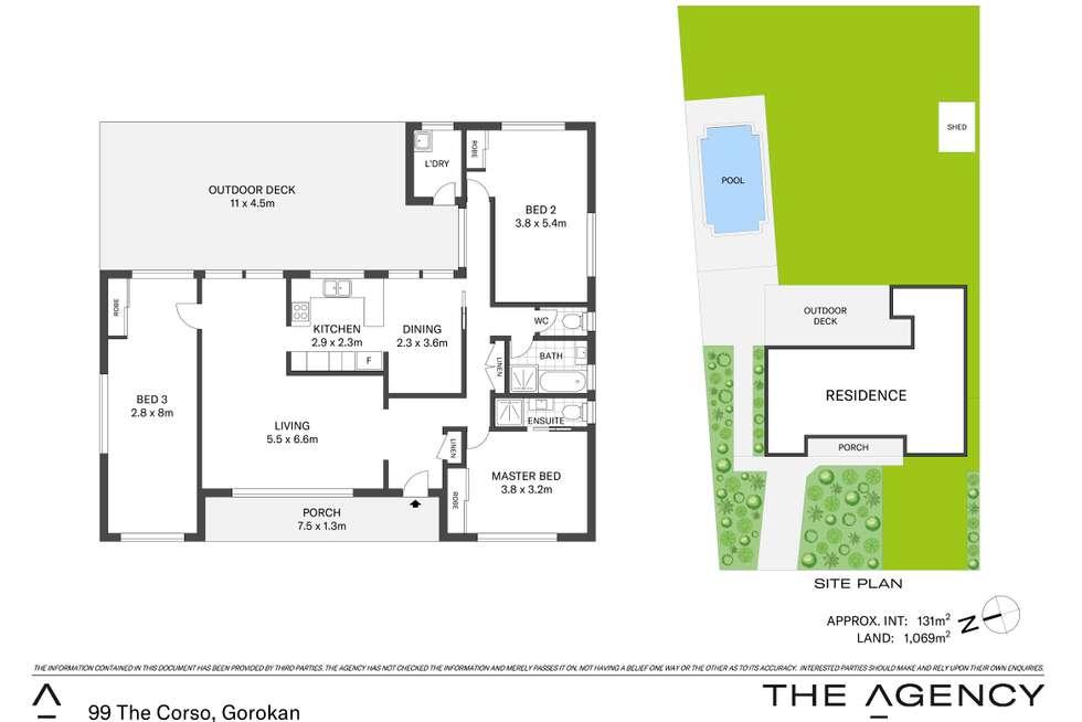 Floorplan of Homely house listing, 99 The Corso, Gorokan NSW 2263