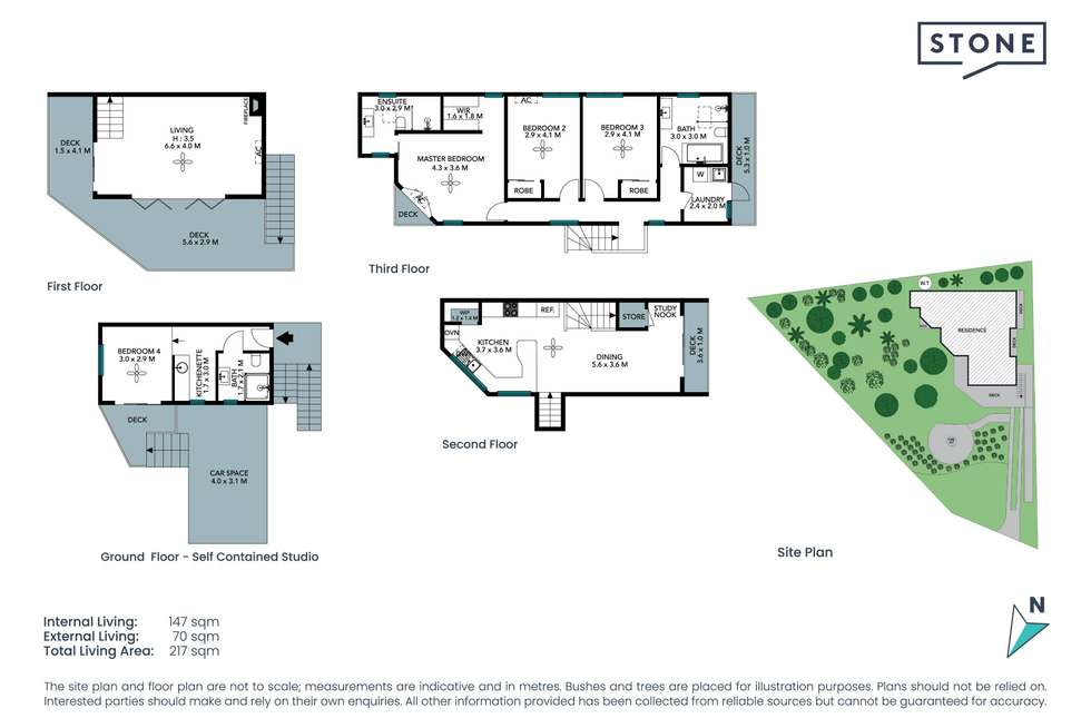 Floorplan of Homely house listing, 6 Austin Avenue, Currumbin Waters QLD 4223