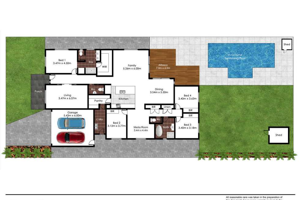 Floorplan of Homely house listing, 17 Lawler Street, Panania NSW 2213