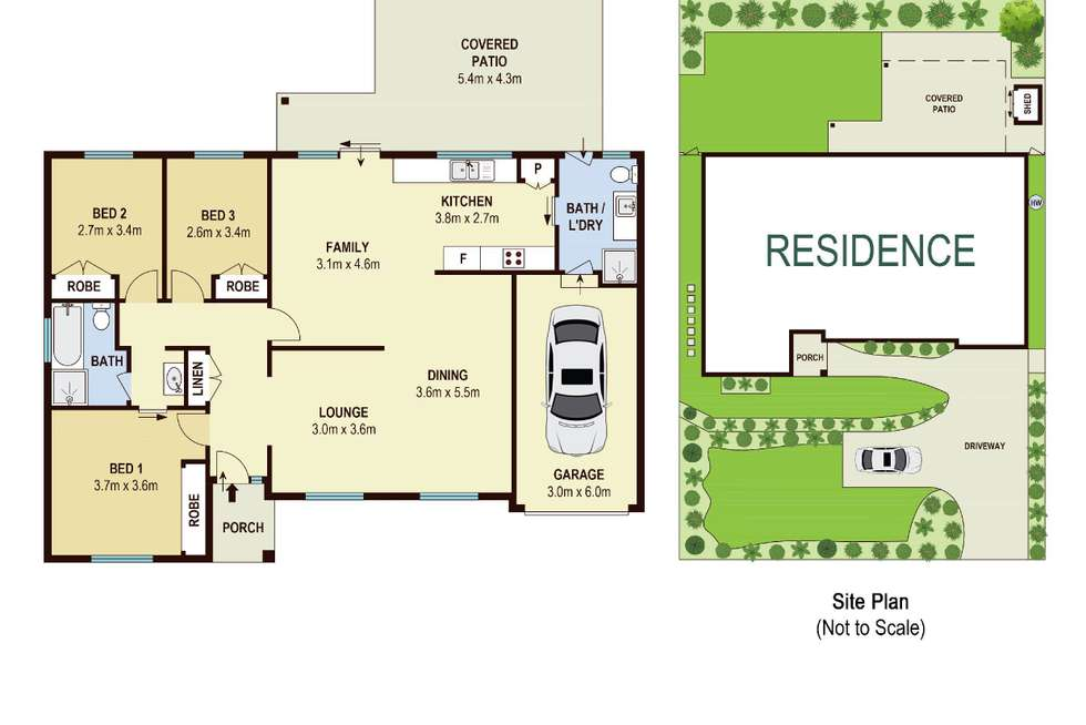 Floorplan of Homely house listing, 5 Altona Street, Hornsby Heights NSW 2077