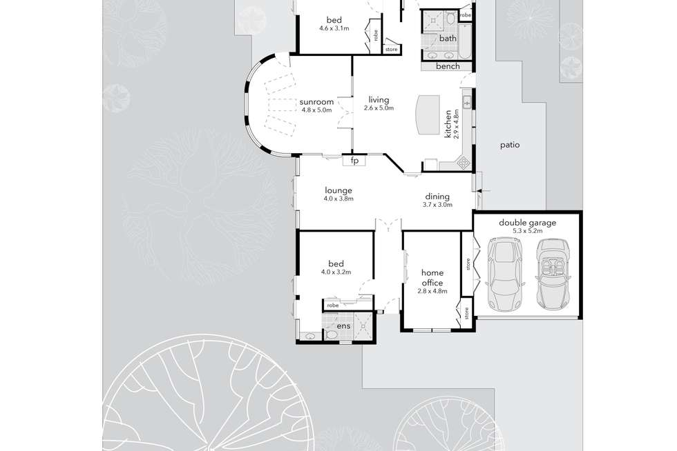Floorplan of Homely house listing, 104 Jaeger Circuit, Bruce ACT 2617