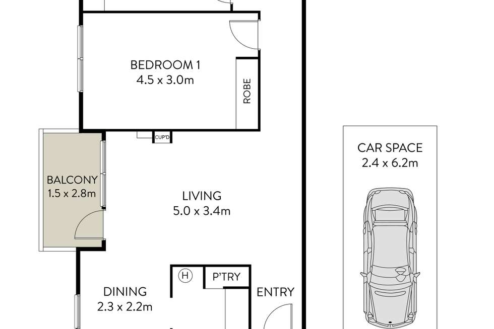 Floorplan of Homely apartment listing, 7/104 Prospect Road, Summer Hill NSW 2130