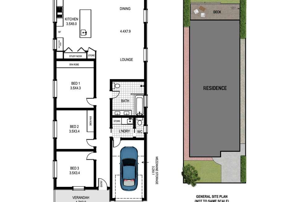 Floorplan of Homely house listing, 22 Johnson Street, Freshwater NSW 2096