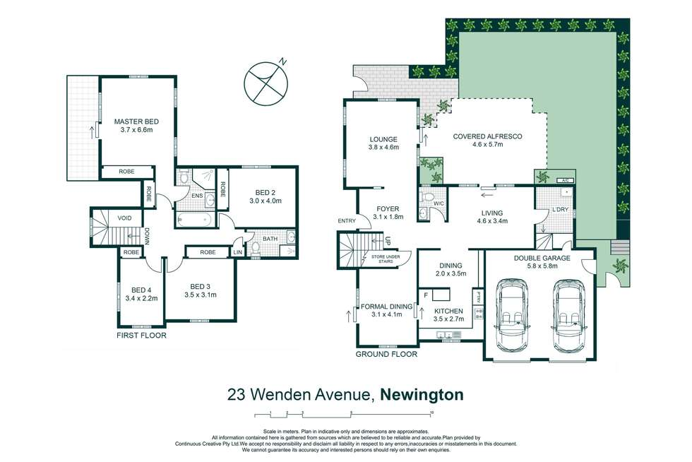 Floorplan of Homely house listing, 23 Wenden Avenue, Newington NSW 2127