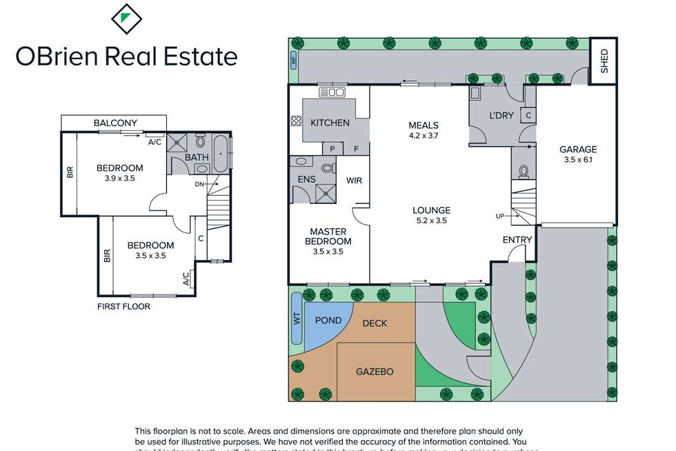 Floorplan of Homely townhouse listing, 2/273 Warrigal Road, Cheltenham VIC 3192