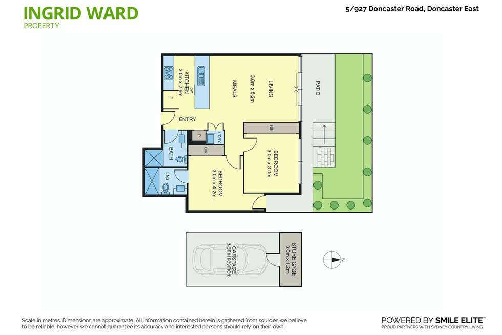Floorplan of Homely apartment listing, 5/927 Doncaster Road, Doncaster East VIC 3109