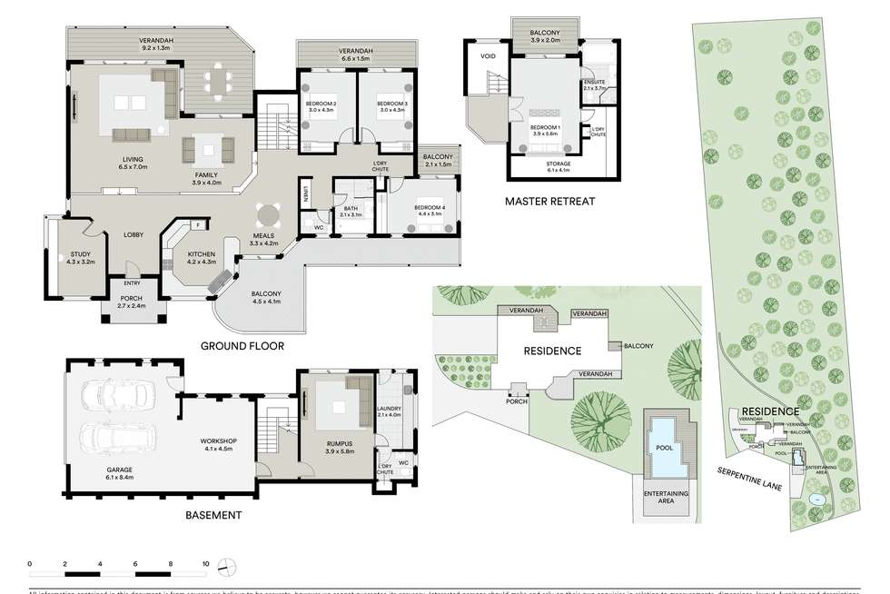 Floorplan of Homely acreageSemiRural listing, 45 Serpentine Lane, Bowen Mountain NSW 2753