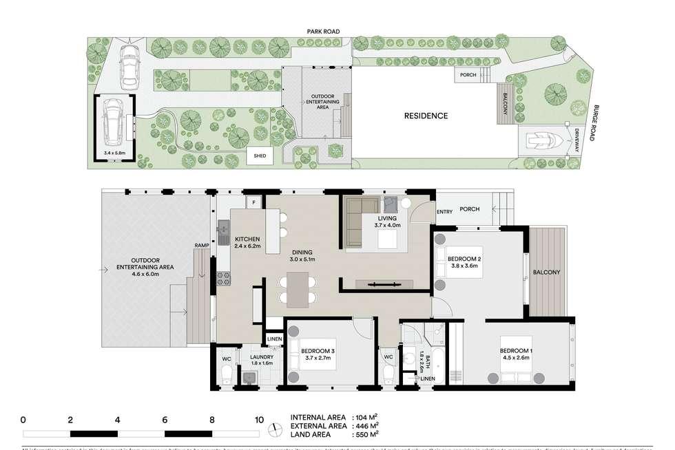 Floorplan of Homely house listing, 203 Burge Road, Woy Woy NSW 2256