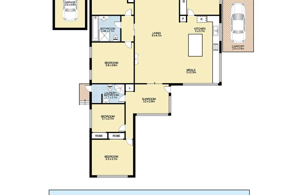 Floorplan of Homely house listing, 3 Quin Avenue, Armidale NSW 2350