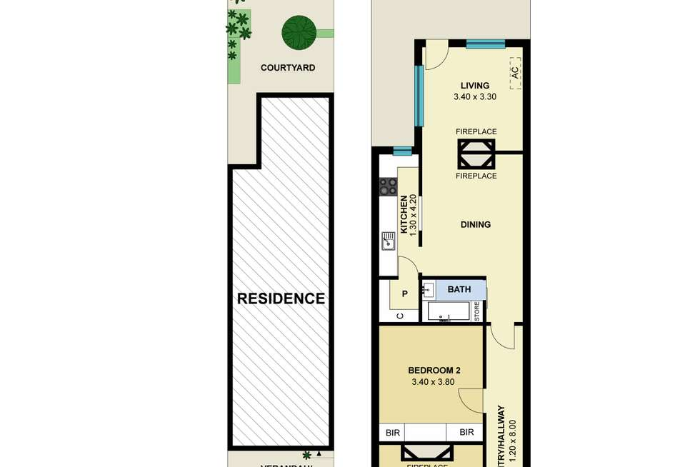 Floorplan of Homely house listing, 41 Hornby Street, Prahran VIC 3181