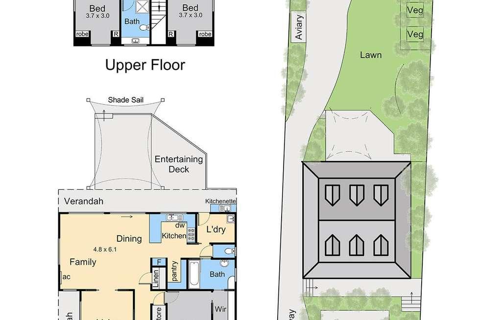 Floorplan of Homely house listing, 116 Flinders Street, Mccrae VIC 3938