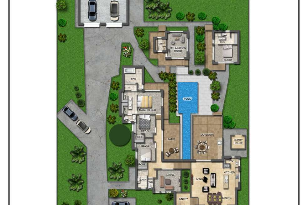 Floorplan of Homely house listing, 16 Warrener Place, Maroochy River QLD 4561
