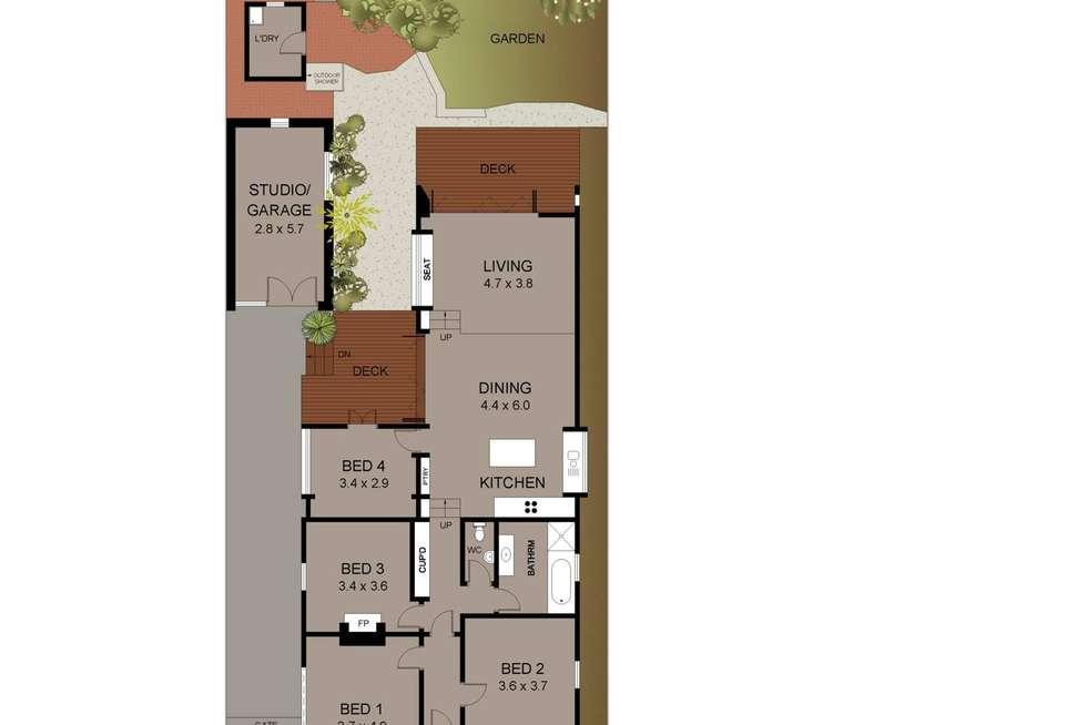 Floorplan of Homely house listing, 10 Daintrey Street, Fairlight NSW 2094