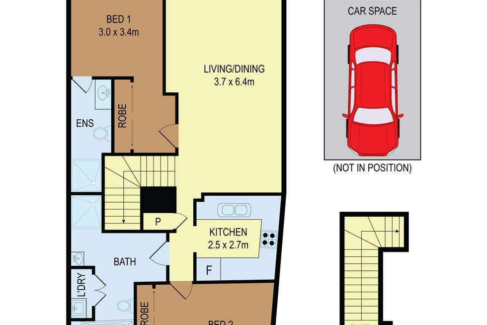 Floorplan of Homely unit listing, 613/31-37 Hassall Street, Parramatta NSW 2150
