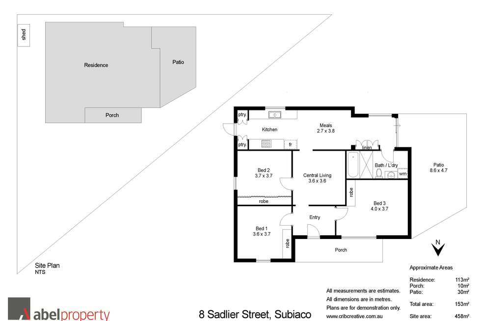 Floorplan of Homely house listing, 8 Sadlier Street, Subiaco WA 6008