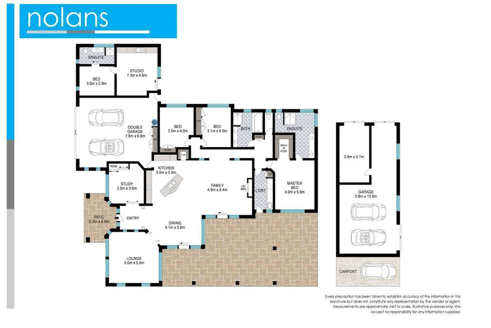 Floorplan of Homely house listing, 26 Lake Russell Drive, Emerald Beach NSW 2456