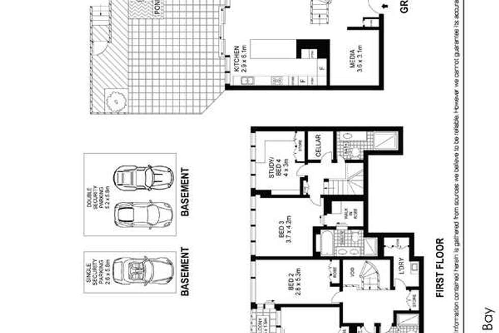 Floorplan of Homely apartment listing, 120/19 Hickson Road, Dawes Point NSW 2000