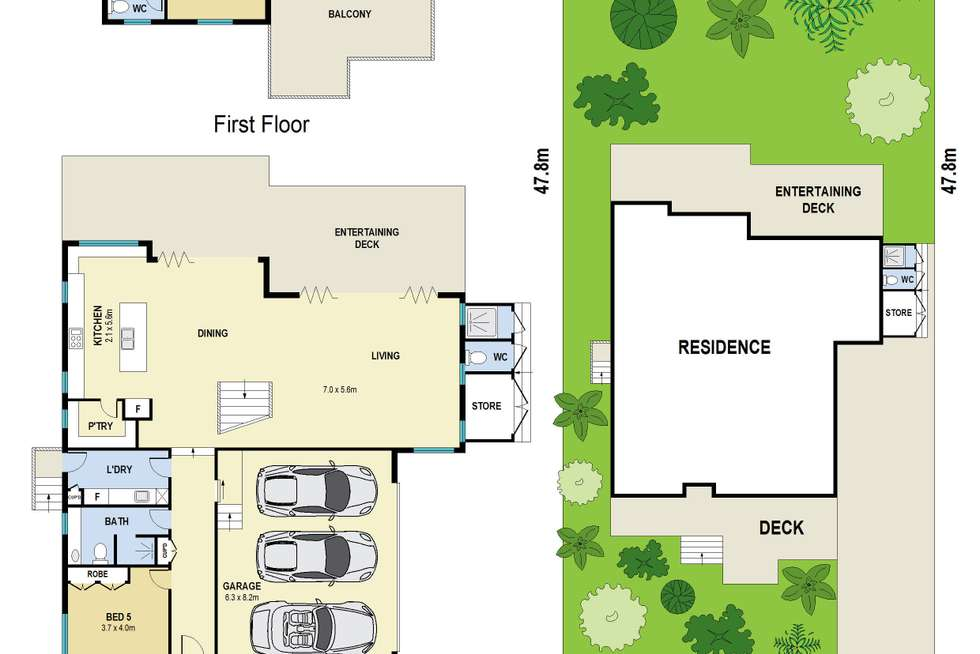 Floorplan of Homely house listing, 27 Mark Street, Newmarket QLD 4051
