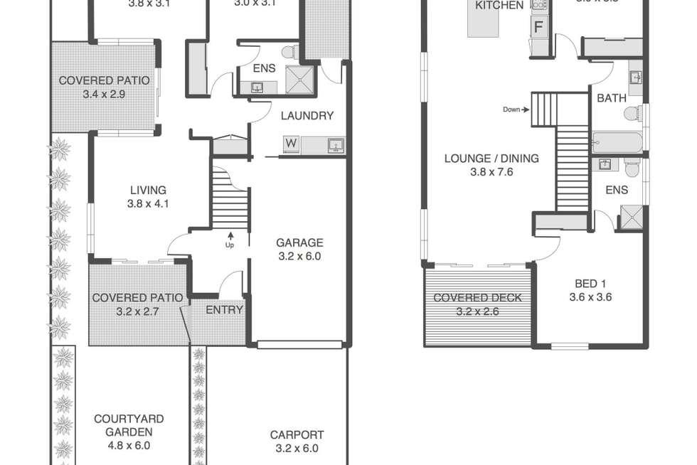 Floorplan of Homely house listing, 52 Farm Street, Newmarket QLD 4051